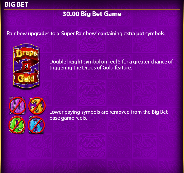 Rainbow-Riches-Drops-of-Gold-30-big-bet-game