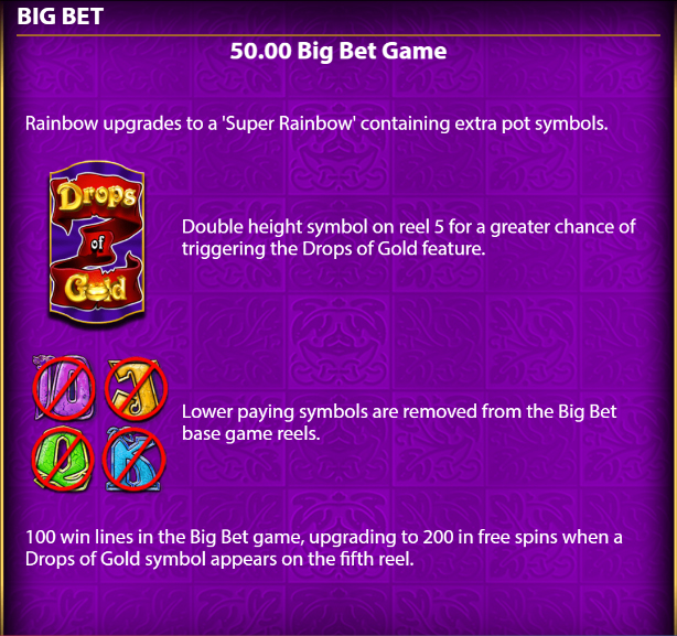 Rainbow-Riches-Drops-of-Gold-50-big-bet-game