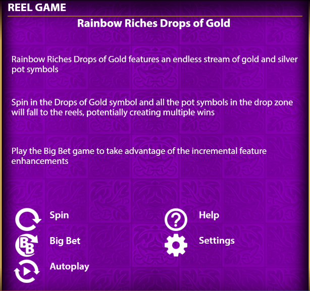 Rainbow-Riches-Drops-of-Gold-game-features